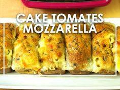 Cake tomate-mozza avec le Cake Factory de Tefal - Click n' Cook Cake Tomate Mozzarella, Cake Factory, Four, Mini Cakes, Cas, Entrees, Quiches, Cooking, Breakfast