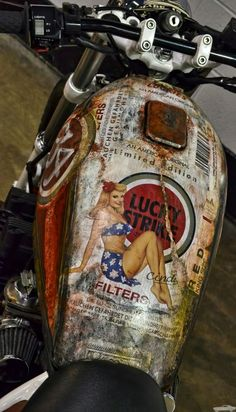 JackSeven Rat Bike Customs I 86316 Friedberg Motos Vintage, Vintage Motorcycles, Custom Motorcycles, Custom Bikes, Custom Motorcycle Paint Jobs, Custom Cars, Hd 883 Iron, Moto Fest, Motos Harley