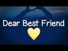 Whatsapp status for your best friends. Best Friend Status, Best Friend Images, Best Friend Quotes Funny, Dear Best Friend, Best Friend Songs, Friendship Video, Friendship Status, Real Friendship Quotes, Whatsapp Emotional Status