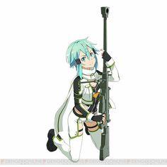Sniper Queen - Sword Art Online ~ DarksideAnime