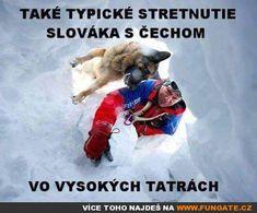 Takové typické střetnutí Slováka s Čechem...