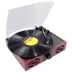Pyle Classic Vintage Retro Style Turntable With Vinyl-to-mp3 Recording