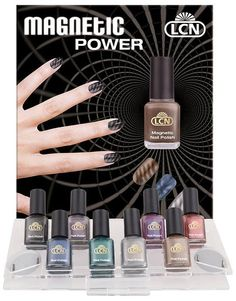 The Latest Nail Trend - Magnetic Nail Polish = Magnetic Power!