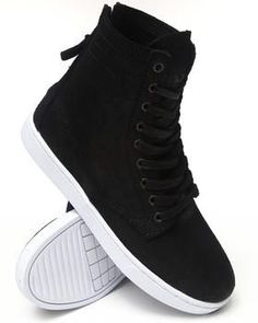 4cc03c842 Buy Wolf Black Waxed Suede Boots Men s Footwear from Supra. Find Supra  fashions   more