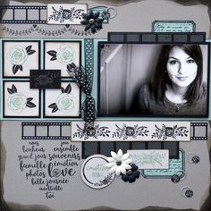 Discover recipes, home ideas, style inspiration and other ideas to try. Album Photo Scrapbooking, Scrapbook Sketches, Scrapbook Page Layouts, Scrapbook Albums, Baby Scrapbook, Scrapbook Paper Crafts, Version Scrap, Photo Layouts, Creative Memories