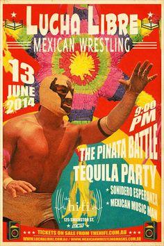 Lucha Libre Party