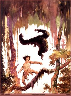 Frank Frazetta - Jungle Tales of Tarzan
