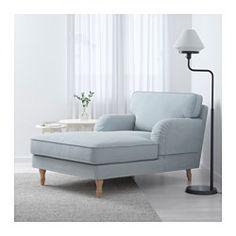 IKEA - STOCKSUND, Chaise longue, Ljungen lichtrood, lichtbruin, , Extra brede en diepe fauteuil met voldoende plaats om comfortabel en ontspannen te zittenJe krijgt extra zacht comfort en steun omdat het dikke kussen een kern van pocketveren en een bovenlaag van gesneden foam en polyestervezels heeft.De kern van pocketveren is slijtvast en behoudt langdurig zijn vorm en zachte comfortDe overtrek is afneembaar en machinewasbaar en dus eenvoudig schoon te houden.Maatwerk bekleding van…