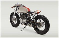 "Classified Moto's '92 Honda CB250 - ""MoHawk250"" - Pipeburn - Purveyors of Classic Motorcycles, Cafe Racers & Custom motorbikes"
