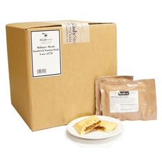 MRE Sandwich Variety Pack - CASE of 72
