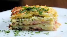 Cheesy Ham Potato Bake - Twisted