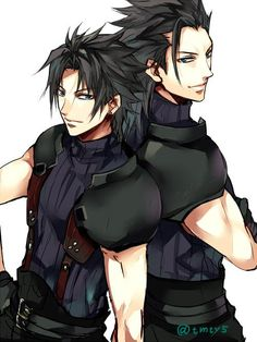 Zack Fair and Angeal Hewley - Final Fantasy VII