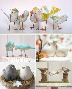décoration thème de mariage love bird