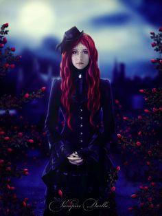Vampire Darlla by VampireDarlla.deviantart.com on @deviantART