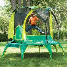 """Leap and Bounds said it is the """"smartest, safest trampoline they've seen"""""""