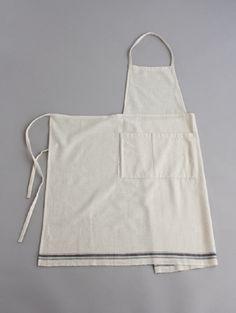 evam eva aspero cotton apron #apron #avental