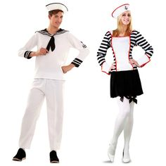 Déguisements Marins Blancs #déguisementscouples