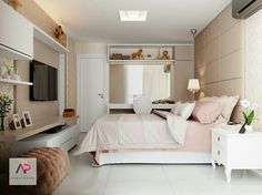 Home & Decor Small Room Bedroom, Room Ideas Bedroom, Home Bedroom, Bedroom Decor, Bedrooms, Dream Rooms, Dream Bedroom, Home Interior, Interior Design Living Room