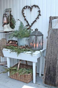 Maybe a porch decor idea for winter