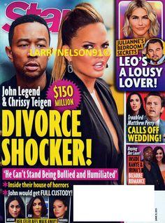 Star Magazine, Matthew Perry, Horror House, John Legend, Divorce, Bullying, The Secret, Love Her, Magazines