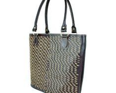 Dámska pracovná kabela ručne vyšívaná (2) Monogram, Michael Kors, Tote Bag, Pattern, Bags, Fashion, Handbags, Moda, Fashion Styles