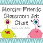 If you're anything like me, you LOVE cute monsters! Improve your classroom management by implementing this super cute Chevron Monster themed job ch...