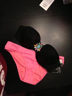<3  VS bandeau bathing  suit