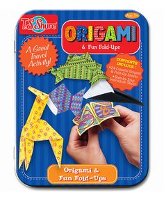Look at this #zulilyfind! Origami & Fun Fold-Ups Activity Mini Tin by T.S. Shure #zulilyfinds