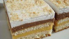 Kolaci I Torte, Croatian Recipes, Pink Nails, Vanilla Cake, Nutella, Cake Recipes, Food And Drink, Cooking Recipes, Sweets