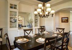 Transitional - dining room - Kichler - Lacey Chandelier - 42382 MIZ. www.kichler.com