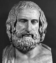 Este es mi amigo Euripides, el también es un autor trágico.