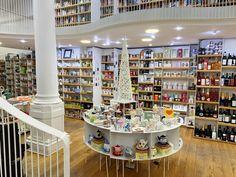 Cărtureşti Carousel Bookstore Bucharest, a wonderland of books Book Lamp, Spiral Staircase, Hidden Treasures, Picture Credit, Bucharest, Cover Pics, Cute Mugs, Romania, That Way