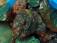 RARE Lizard Creek Green Jasper Replacement by RockYourWorldGems, $10.00