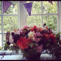 Fall flowers by Botany Flowers