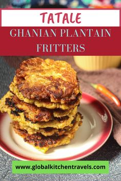 Ghanian Plantain Fritters - Not sure what to do with overripe plantains? This popular street food from Ghana is the perfect recipe to utilize them and practice zero waste. Even if the skin is totally black, these delicious savory fritters can still be made with them. #zerowasterecipe #nowasterecipe #plantainrecipes #africanrecipes