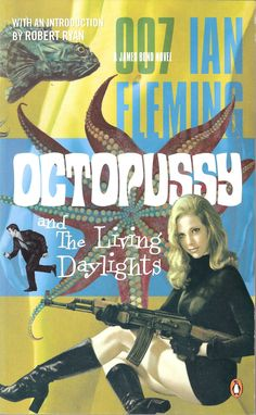 Octopussy Penguin books pulp paperback.  Bond is so cold in this Octopussy.  Living Daylights is my favorite Timothy Dalton Bond film (as well as one of my favorite overall) and the story is a good one to leave James Bond on.