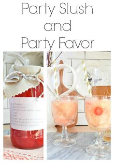 Best Party Slush and Party Favor - Nesting With Grace