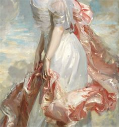 Miss Mathilde Towsend by John Singer Sargent,1907
