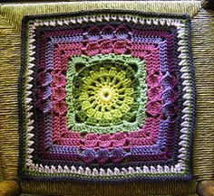 """Ravelry: chitweed's 2011 CAL August 12"""" Filler"""