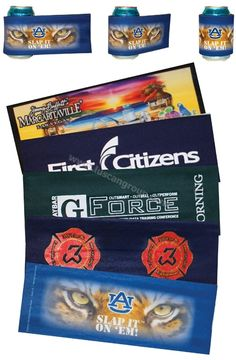 Promotional Products Ideas that work: Slap-on bevergae wrap / wristband. New twist to old favourites. Great promotional product idea for events & trade shows. Get yours at www.luscangroup.com