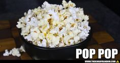 You can make bags of microwave popcorn at home. They're delicious and ready to serve in just a couple of minutes. Not to mention they're cheaper than the name brands, and free from any nasty chemicals.  WATCH: http://youtu.be/bEAQGEQrZs4