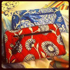 Vera Bradley wallets