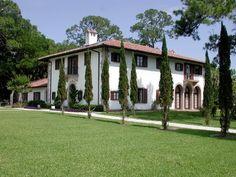 Villa Ospo, Jekyll Island, Georgia