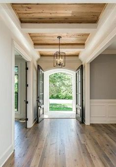 Beautiful European Farmhouse Style Decoration - Page 22 of 36 Home Design, Decor Interior Design, Design Ideas, Interior Decorating, Simple Ceiling Design, Modern Farmhouse, Farmhouse Style, Plafond Design, Farmhouse Flooring