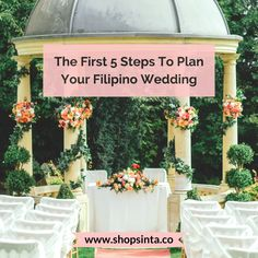 Planning A Filipino Wedding? Here Are Your First 5 Steps – Sinta & Co. Wedding Guest List, Wedding Blog, Wedding Planner, Dream Wedding, Wedding Day, Filipino Wedding, Money Dance, Just Engaged, Big Party