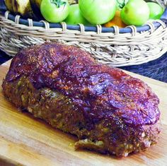 Mario Batali's grandmother's meatloaf recipe as shown on The Chew.