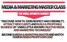 Become a media and marketing master