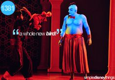 Aladdin: A Musical Spectacular I love this show! Love the Genie!! He is hilarious!! better every time I see the show!