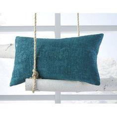 23 x 23 Square Floor Pillow Kess InHouse Sylvia Coomes Cactus Desert Landscape Blue Tan Photography