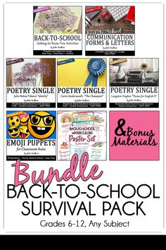 Survive - and thrive - in the first days of school with this bundle designed for secondary classrooms. Great for any subject of middle-high school level. This is the most practical and unique classroom start up pack because it is a one-stop shop for new teachers, student-teachers, or even veteran teachers who are looking for a new twist on old ideas.  The unique aspect about this back-to-school survival pack is that all the materials relate to the theme of identity.